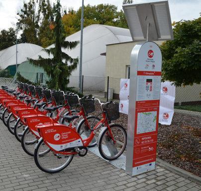 (Polski) Rower miejski znika na zimową przerwę