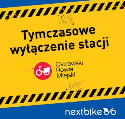 (Polski) Ostrowski Rower Miejski – wyłączenie systemu